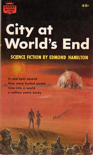 City at World's End (1957 edition), Edmond Hamilton, cover by Richard Powers