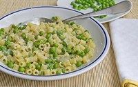 Pasta with cream cheese and peas - Weaning & baby recipes -MadeForMums
