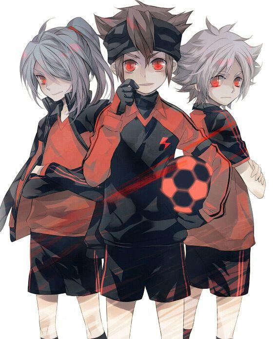 Kazemaru Ichirouta, Endou Mamoru, Fubuki Shirou