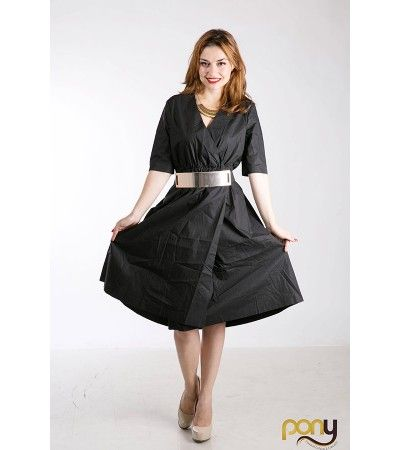 60s Wide Dress www.theponytail.ro