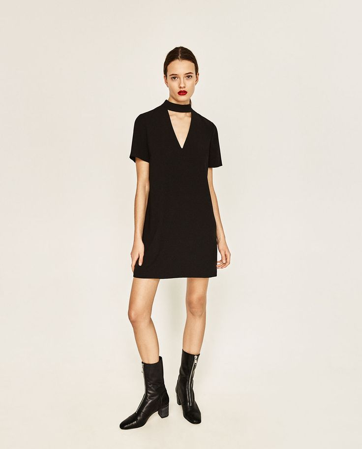MINI DRESS WITH COLLAR DETAIL-DRESSES-WOMAN-COLLECTION SS/17 | ZARA United States