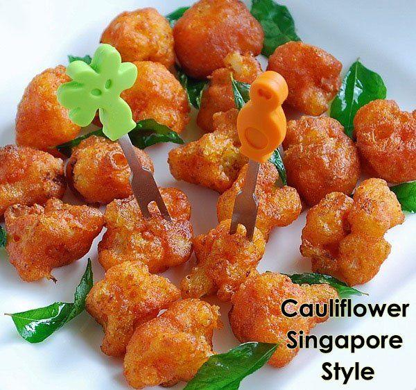 Cauliflower Singapore Style