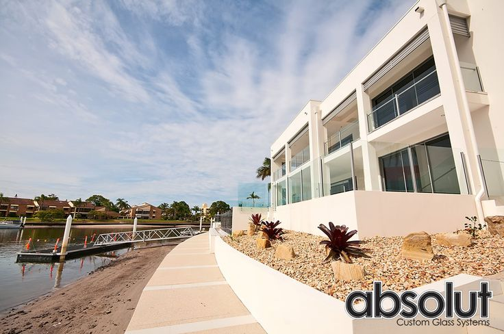 Glass balustrades provide safety and a modern look to your home. Absolut Custom Glass System is offering different beautiful varieties of glass balustrades, which you can choose as per your need.