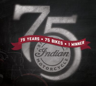 Win A Customized 2015 Indian Motorcycle and a NEW Ford Truck With Trailer