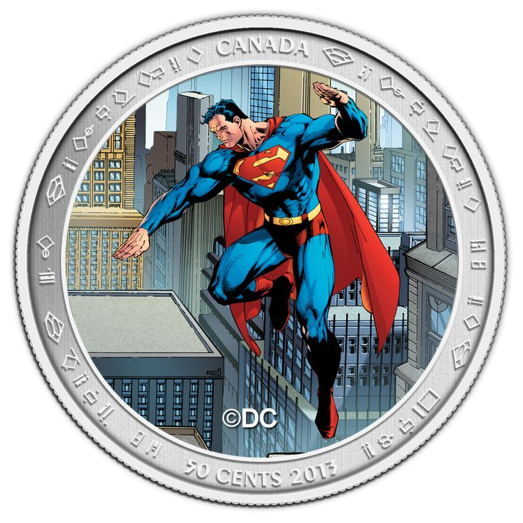 Lenticular Coin and Stamp Set - Superman™: Then and Now (2013). On September 9, 2013, the Mint unveiled seven new collector coins in celebration of the 75th anniversary of Superman.