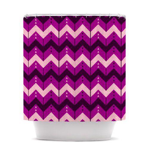 The 47 best Purple Chevron Shower Curtain images on Pinterest ...