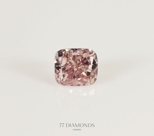 A stunning fancy #pink #diamond! @77 Diamonds