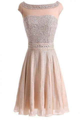 Short Prom Dresses Real Beautiful Short Beading Modest Cocktail Homecoming Dresses