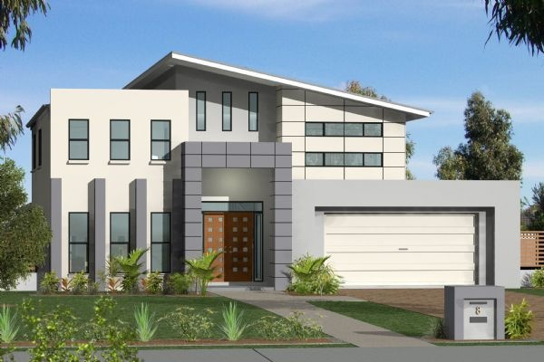 GJ Gardner Home Designs: Twin Waters - Facade Option 1. Visit www.localbuilders.com.au/home_builders_western_australia.htm to find your ideal home design in Western Australia
