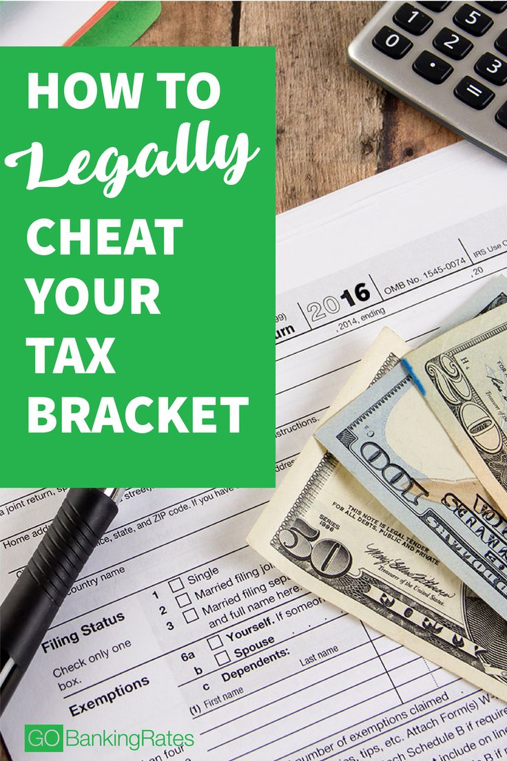 Click through to see how to legally cheat your tax bracket....