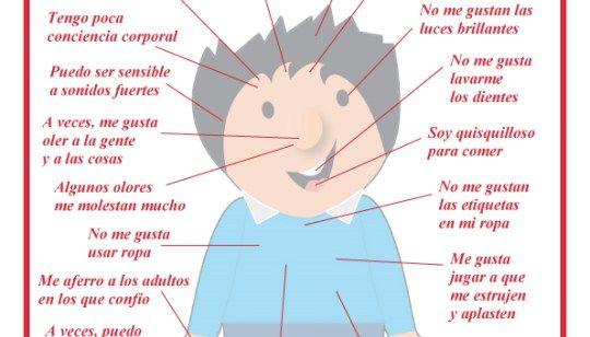 Indicaciones útiles sobre niños y niñas con trastorno del procesamiento sensorial.