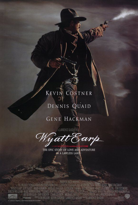 Wyatt Earp 11x17 Movie Poster (1994)