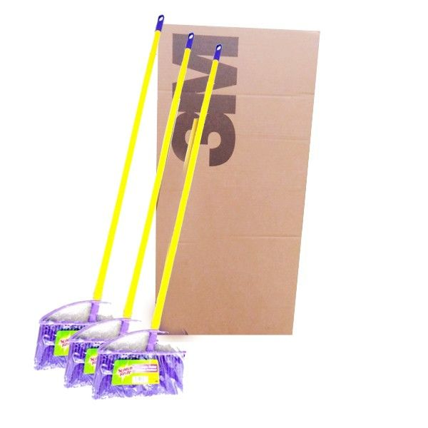 3M Scotch Brite Sapu Nylon Set (grosir) (ID-47) - 12 pcs/karton - Sapu Nilon di Jual dg Harga Lebih Murah u/ Menyapu Lantai  - Material nylon yang kuat dan lentur - Bentuk kipas sehingga jangkauan membersihkan lebih luas - Dapat di isi ulang  Harga per 12 each/karton  http://tigaem.com/scotch-brite-grosir/923-sapu-nylon-set.html  #scotchbrite #sapunylon #3M
