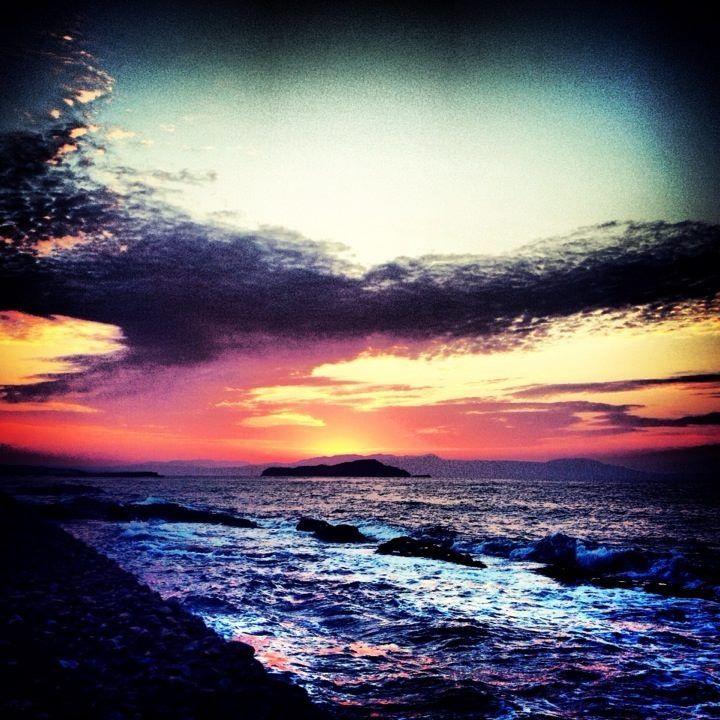 almost evening... in Crete