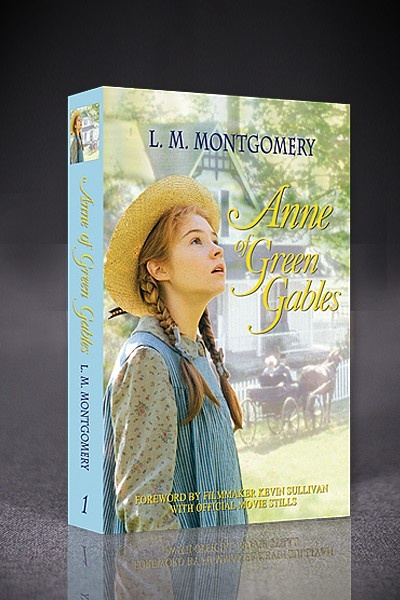 anne of green gables official sullivan edition book, anne of green gables, www.shopatsullivan.com