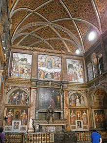Tramezza della chiesa di S. Maurizio
