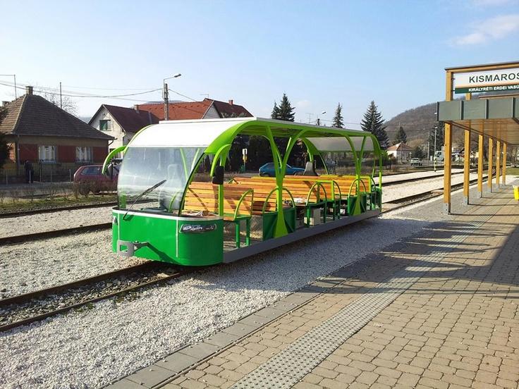 Meet VILI, the solar powered train, Királyrét, Hungary, Europe