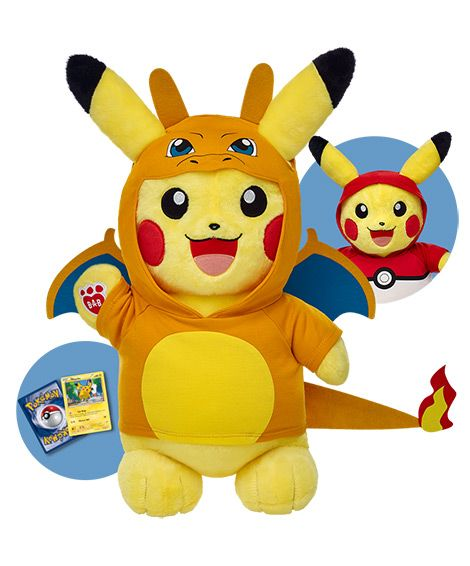 Build-A-Bear Workshop Coming out With Pikachu Line