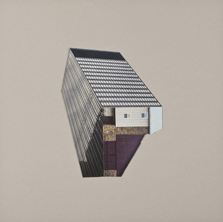 Krista Svalbonas - migrant architectural collages