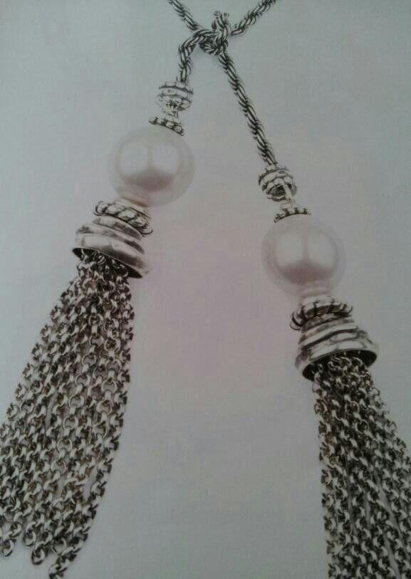 Exquisite long necklace