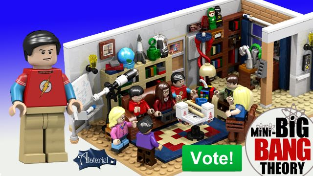 LEGO Set Based on 'The Big Bang Theory' Proposed to Become an Official LEGO Product