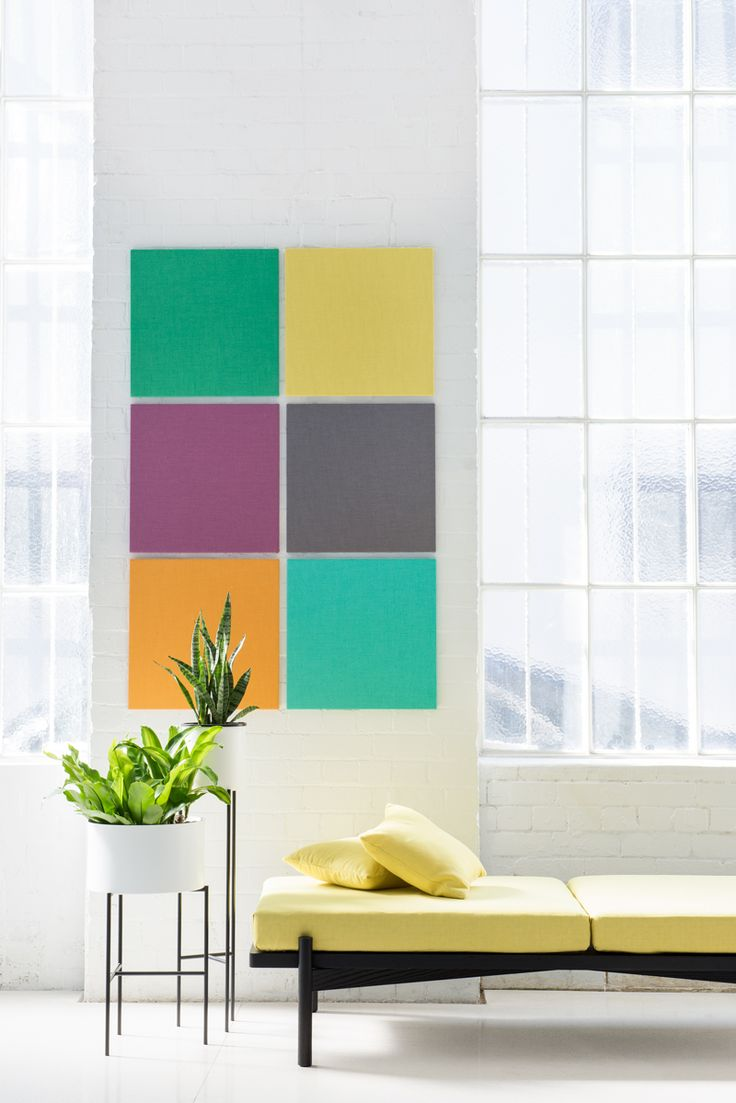 Kirei echopanel geometric tiles building for health - Self Adhesive Echopanel Mura Tile 500mm X 500mm Acoustic Tiles Which Are Pin Able And Easy To Install Just Peel And Stick Huge Range Of Colours