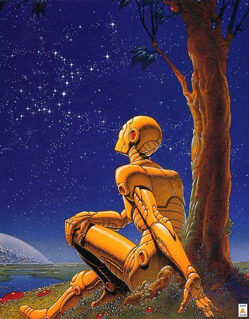 ¿Como veían a los robots a mediados del siglo XX?