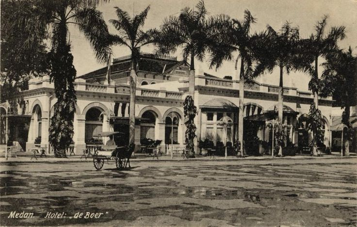 Hotel De Boer, Medan.