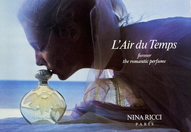 Nina Ricci Fragrance Ad Campaign L'Air du Temps