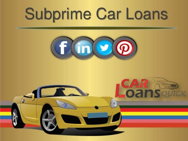 subprime auto loan rates