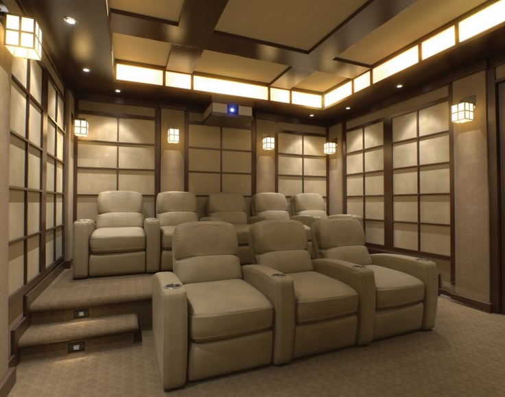 cinema room furniture. the seating view of tearoom home cinema designed by design group room furniture