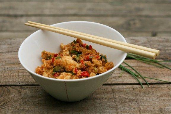"""Stegte LCHF """"ris"""" - på kinesisk"""