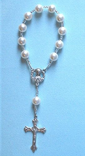 Want this bracelet...Pocket Rosary Pearl by DeborahRatzDesigns on Etsy, $8.99