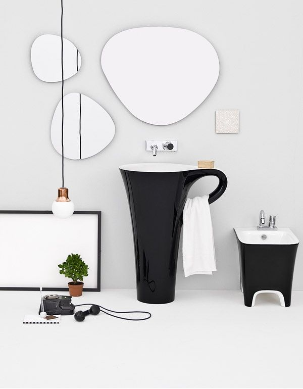 THE.ARTCERAM CUP freestanding washbasin
