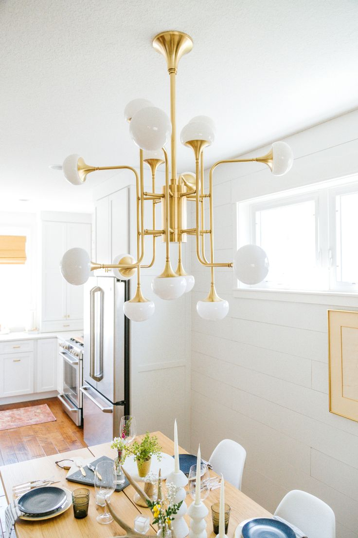 Hudson Valley Lighting Fleming   One Room Challenge   Design by Creekwood Hill   Photo by Tem Photograph