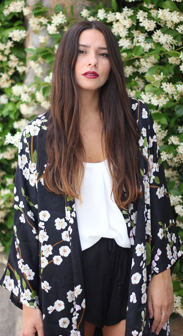 Silk Kimono - love this for a cover up!