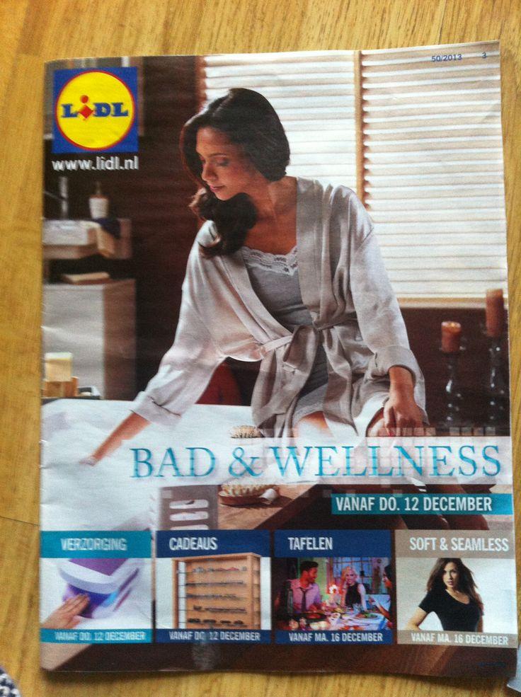 Een promotie brochure van Lidl. Het is elke week anders.