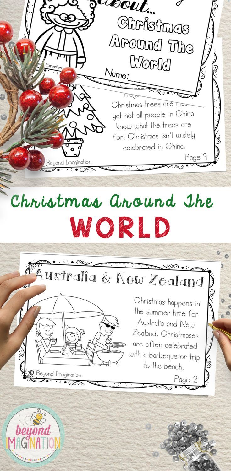 Christmas Around the World Booklet | 172 Pages for Differentiated ...