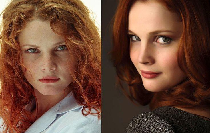 Екатерина Вуличенко рыжая русская актриса с веснушками и кучерявыми волосами
