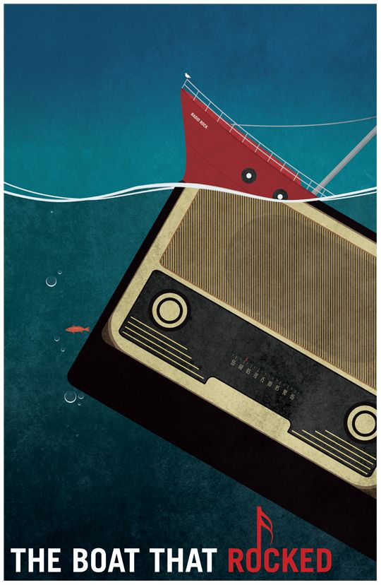 The Boat That Rocked - Poster by ~video-massacre on deviantART