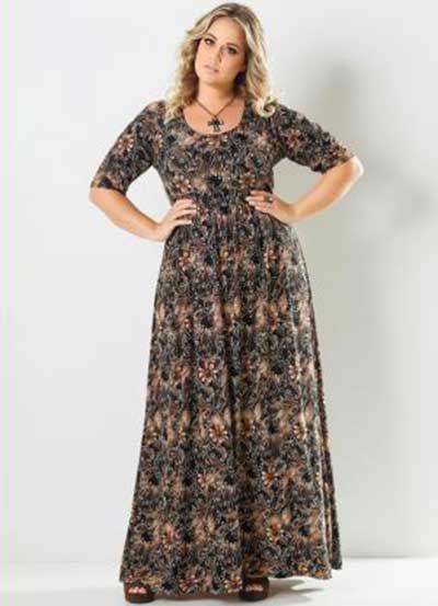 Vestidos Longos Plus Size 0