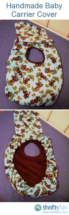This is a guide about  handmade baby carrier cover. If you sew, you can save money or create a unique baby carrier cover by making your own.