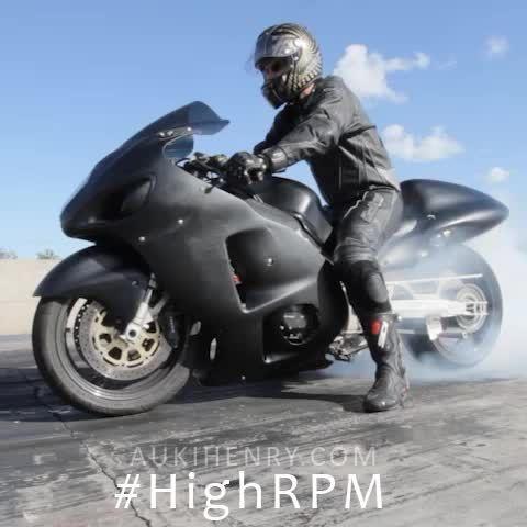 6 Seconds of bike burnout at Hidden Valley Drag Strip.  #HighRPM #Vine #Motorsports
