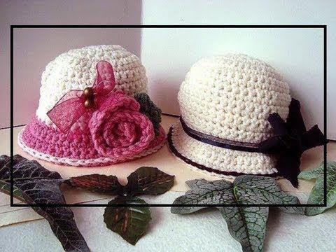 Varios modelos de chapeú para criança.. - trabalho com amor