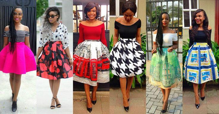 Flair Skirts Ankara Styles Nigeria Fashion Collages