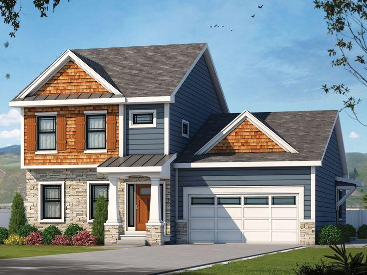 031h 0412 Multi Generational House Plan With Craftsman Style Craftsman House Craftsman House Plans Craftsman House Plan