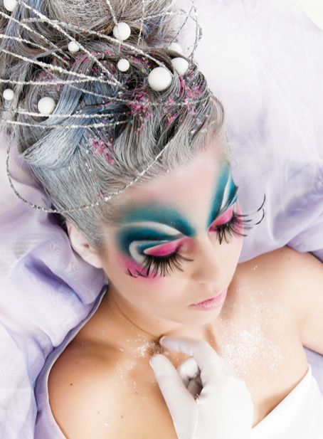 Hungarian make-up artist Olga Gila used Kryolan make-up to create this futuristic fairy tale character. The look was created for our KryolanCOVERLOOK competition to feature work on the front cover of make up international magazine. For details on how to enter visit www.facebook.com/...