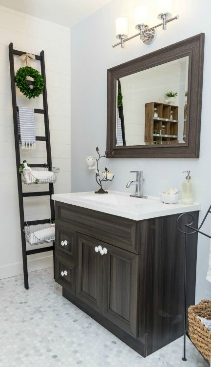 121 best images about bathroom inspiration on pinterest for Redecorating a small bathroom