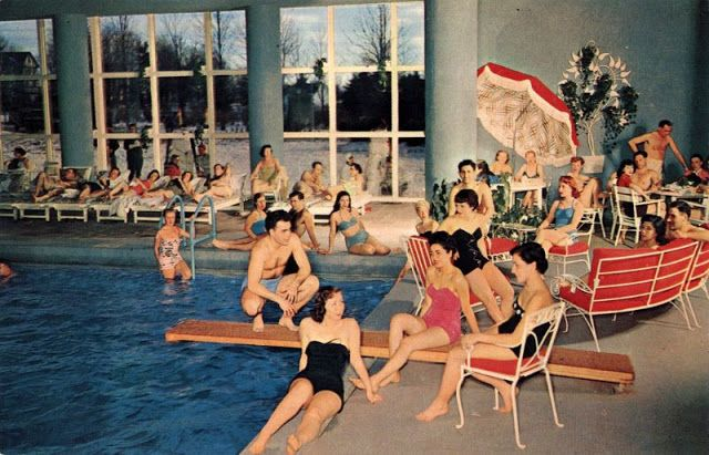 30 Cool Pics That Show American Hotel Swimming Pools From The 1950s And 1960s Vintage Pool Parties Hotel Swimming Pool Swimming Pools