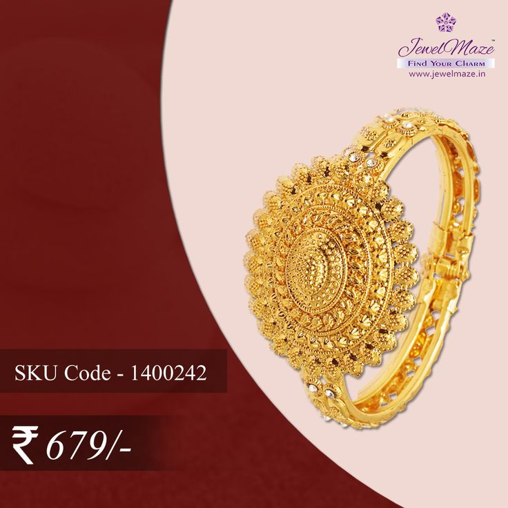 Adding a lift to your traditional attire Buy this Kada at Rs. 679/-